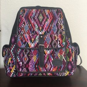 Handbags - Mayan Huipil Backpack Diaper Bag
